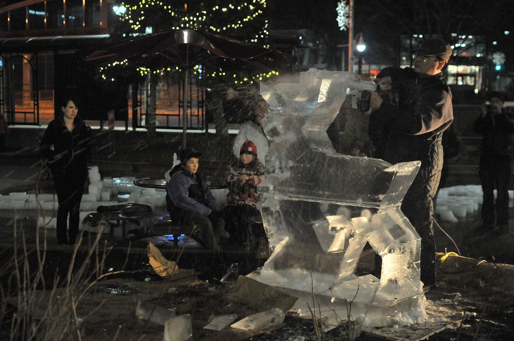 Ice sculpture Guelph