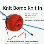 Knit Bomb Knit In Fourth Friday's Guelph
