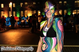 Body paint Fourth Friday's Guelph