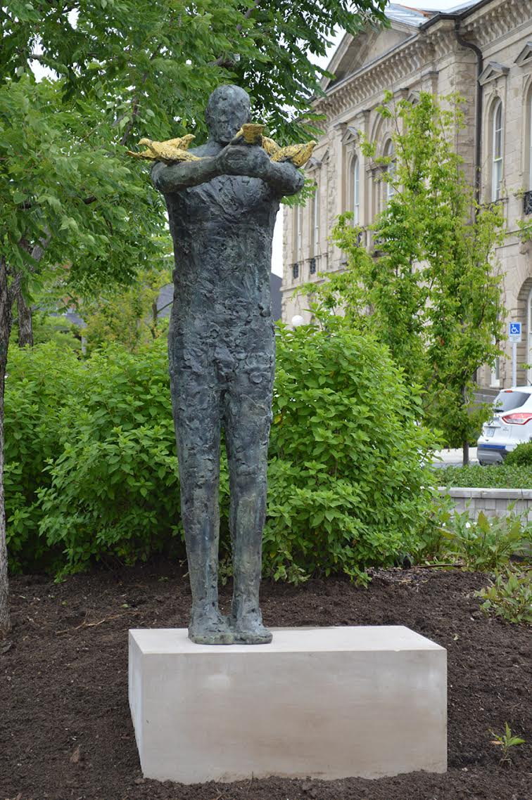 Guelph Fourth Friday statue