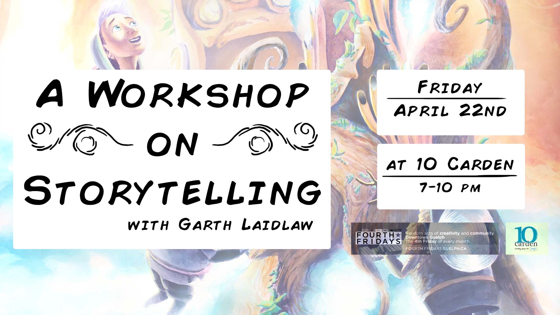 Workshop on Storytelling Flyer Guelph
