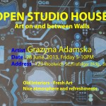 Open Studio House Fourth Friday's Guelph