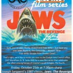 Fourth Friday's Guelph Film Series poster